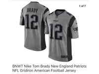 BNWT TOM BRADY NEW ENGLAND PATRIOTS JERSEY