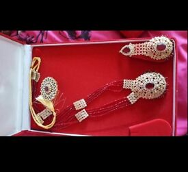 Gold plated Asian jewellery