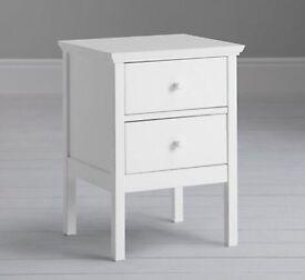 John Lewis Bedside Tables x2