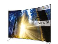 "Samsung 49"" curved 4k SUHD smart led tv ue49ks7500"