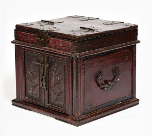 Early 20th Century, Antique Chinese Wooden Box