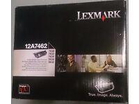 1 or 2 Lexmark 12A7462 Toner Cartridge (£153.32 each on Amazon)