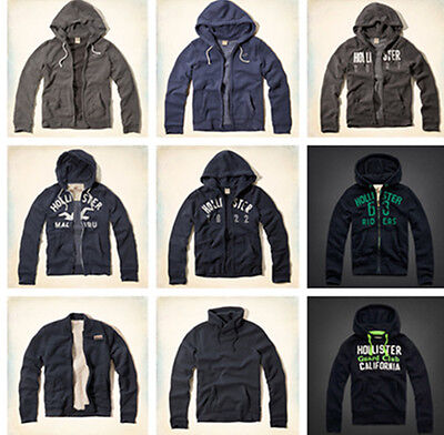 New Abercrombie by Hollister Hoodie Mens San Onofre Size M L XL