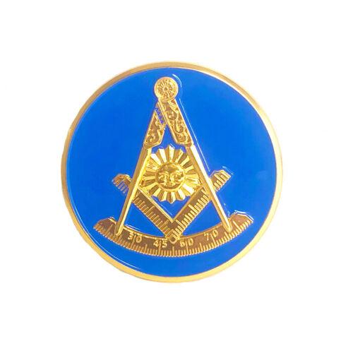 "Masonic Past Master 2"" car emblem #CPM2"