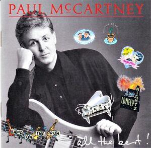 Paul McCartney greatest 17 song cd
