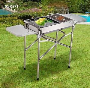 Outdoor Charcoal BBQ Grills and Pizza Oven Taxes Incl.