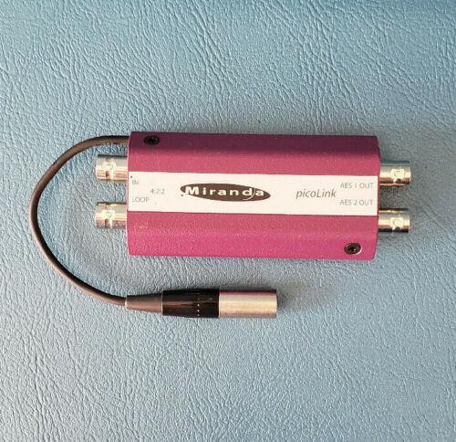 Miranda Picolink ADX-172p/75 LKS-WSU Audio Video Converter