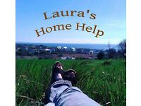 """Laura's Home Help"" Cleaning and Gardening Lady"