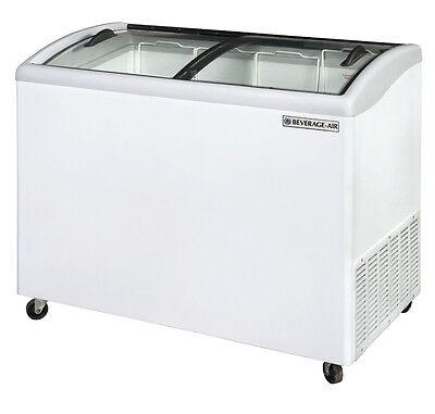 Beverage-air Nc43hc-1-w 8.7 Cuft 43 Slanted-top Novelty Case Display Freezer