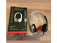 BEATS By Dr Dre Solo HD HEADPHONES WITH CONTROL TALK EXCELLENT CONDITION!!!