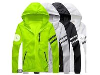 Mens Casual Jacket Windbreaker Lightweight Bomber Jackets
