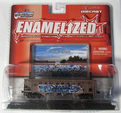 Maistro Custom Shop Enamelized Graffiti Diecast Train Collection - Cense