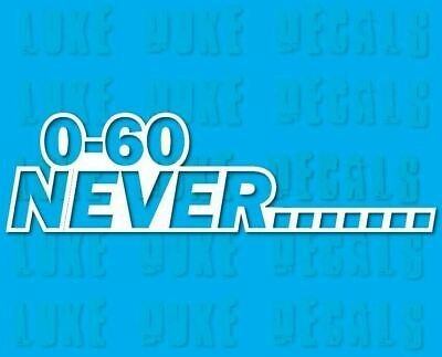 (2x) 0-60 Never..... _ 8
