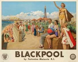 Classic Seaside Prints Railways Holidays
