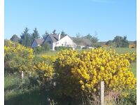 4 bedroom detached house with scenic views over Dornoch Firth