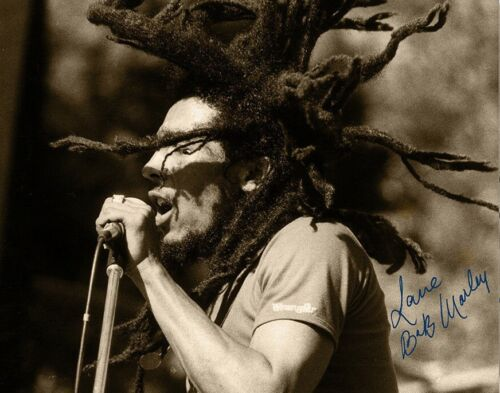 Bob Marley Autographed Signed 8x10 Photo REPRINT