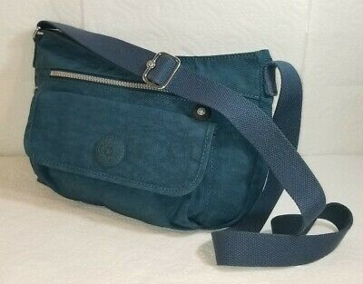 KIPLING  Green Crossbody Shoulder Bag Purse