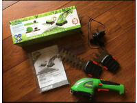 Florabest cordless grass and shrub trimmer