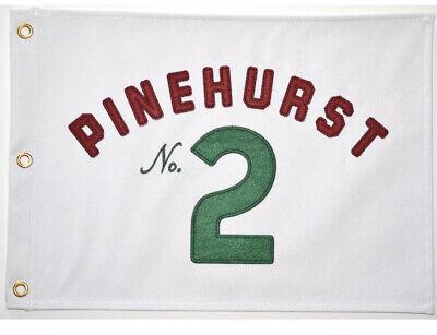 NEW PINEHURST NO. 2 GOLF PIN FLAG US OPEN PGA MASTERS PAYNE STEWART TIGER WOODS