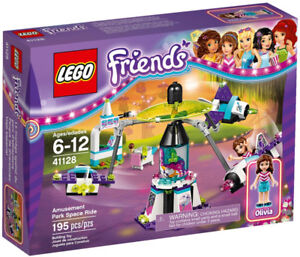 Lego Friends Olivia's Amusement Park Space Ride 41128