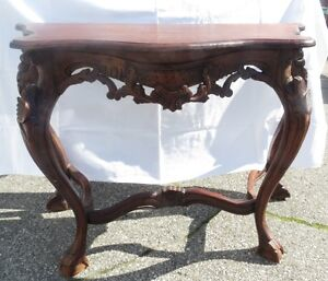 Antique Rococo Console Table Great condition