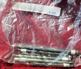 BARGAIN set of 6 mixed drill bits 6.5-4mm