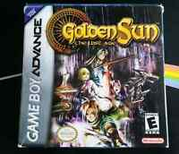 GBA - Golden Sun 2 The Lost Age (CIB)