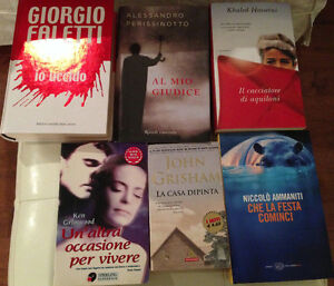 Italian Novels….Over 75 books...