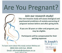 Research Study- Are you pregnant?