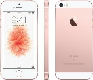 iPhone SE rose gold Telus/Koodo 32gb