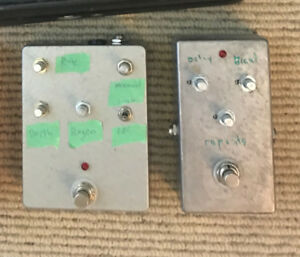 Partially Working BYOC Pedals