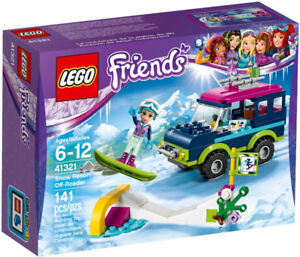 SAVE $5 Lego Friends Emma's Snow Resort, Stephanie's Cake Shop