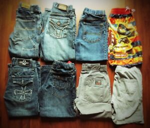 *Huge lot of Boy's Size 7T-8T Clothes For Sale *Over 60+ PCs***