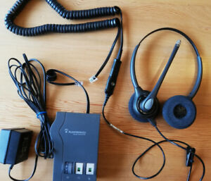 Audio Processor for landline with high quality headset and cable