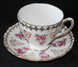 COLCLOUGH TEA CUP  & SAUCER