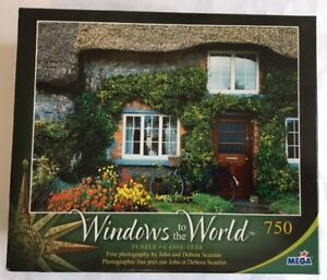 New Mega Windows to the World 750 piece Puzzle