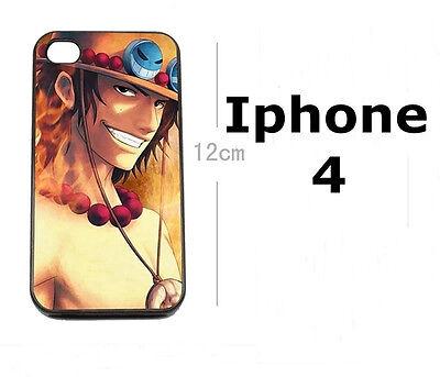 !! One Piece Ace Asce Anime/Manga Handyhülle Case für iPhone 4 / 4S !!