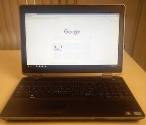 """Dell Latitude E6530 15.6"""" HD screen SSD USB 3.0"""