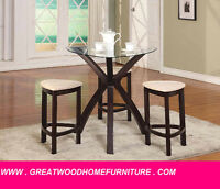** BRAND NEW 4 PIECE PUB SET FOR $299 ONLY...***