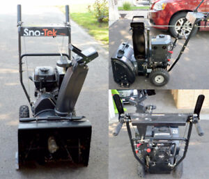 Sno-Tek 20 Inch Two Stage Snow Thrower