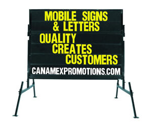 """""""LARGEST Manufacturer of Mobile signs //// Portable signs!"""