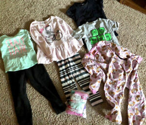 Girls  4T/5T clothing, helmet and toys - Everything for $15.00
