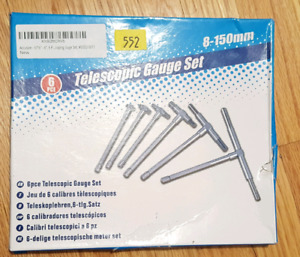 Telescopic gauge set 8-150mm $20