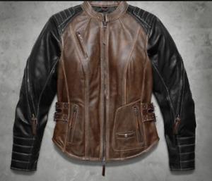 HD Women's leather jacket