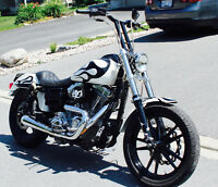 Harley Davidson DYNA mint condition.