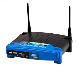 Linksys WRT54G Router 802.11g and 802.11b (2.4 GHz)