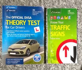 The official DVSA theory test & traffic signs.