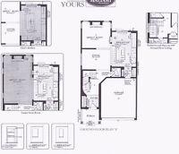 New 3BDR/3.5BR Single Home in Kanata::Avail MAR,16,2016 $2100/mo