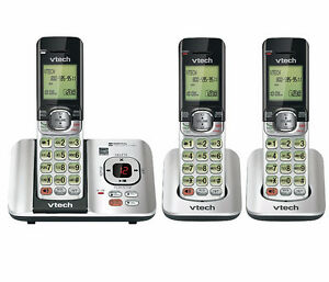 Combiné Sans fils 3 Téléphones Répondeur Afficheur Vtech