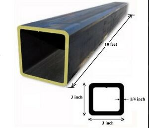 Square Tubing (STEEL)1 PIECE available